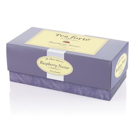 【Tea Forte】20入金字塔型絲質茶包-覆盆莓子茶 Raspberry Nectar