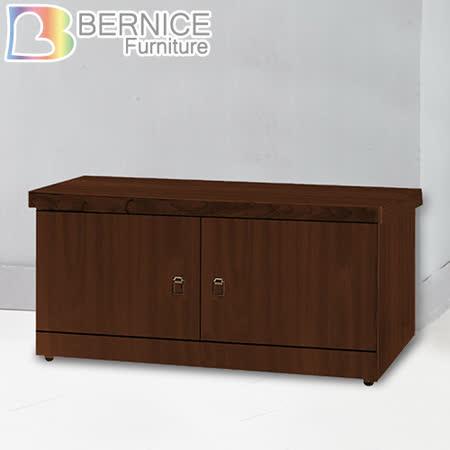 Bernice-雷斯2.6尺二門座式鞋櫃