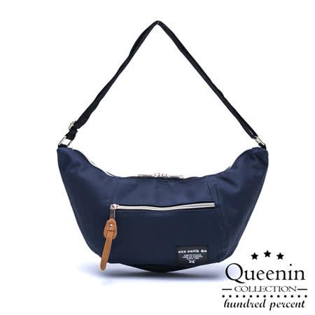 【好物分享】gohappy 購物網DF Queenin日韓 - 日本暢銷芭娜娜款隨身側背包-深藍價錢買 客
