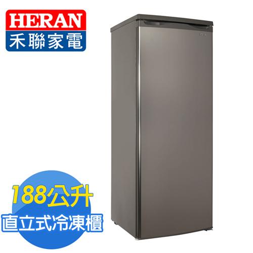 HERAN 禾聯 188L 直立式冷凍櫃 HFZ~1861
