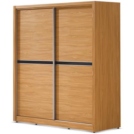 MY傢俬 日式工業風5X7尺推門衣櫃
