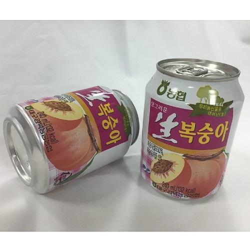 ~韓國HAITAI~水蜜桃汁^(240ml^~12入盒^)