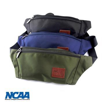 NCAA 防潑水 小腰包 ^(深綠深藍黑色^)3色