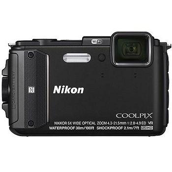 NIKON COOLPIX AW130 防水WIFI數位相機(黑色-中文平輸) -送保護貼