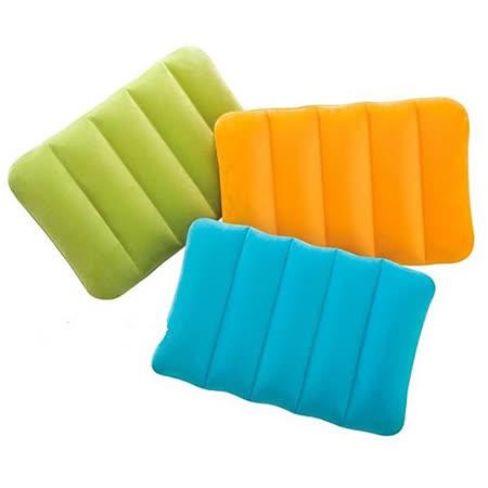 【INTEX】彩色充氣枕(款式隨機) 68676NP