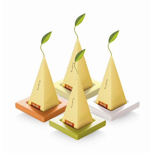 ~Tea Forte~2入陶瓷方型茶托 Ceramic Tray