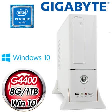 技嘉H170平台【歐陽公政】Intel Pentium G4400 8G 1TB  WIFI無線高效能電腦 (含WIN10)