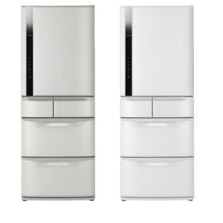 《夜殺》【HITACHI日立】日本原裝變頻420L。五門電冰箱/星燦白(RS42FJ)