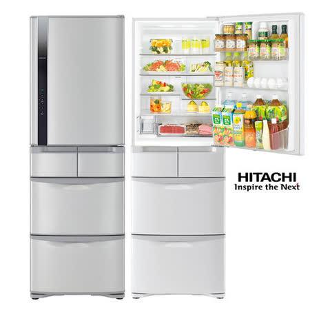 領券再折$1700★HITACHI日立420公升日本原裝一級變頻真空冷藏五門冰箱RS42FJ
