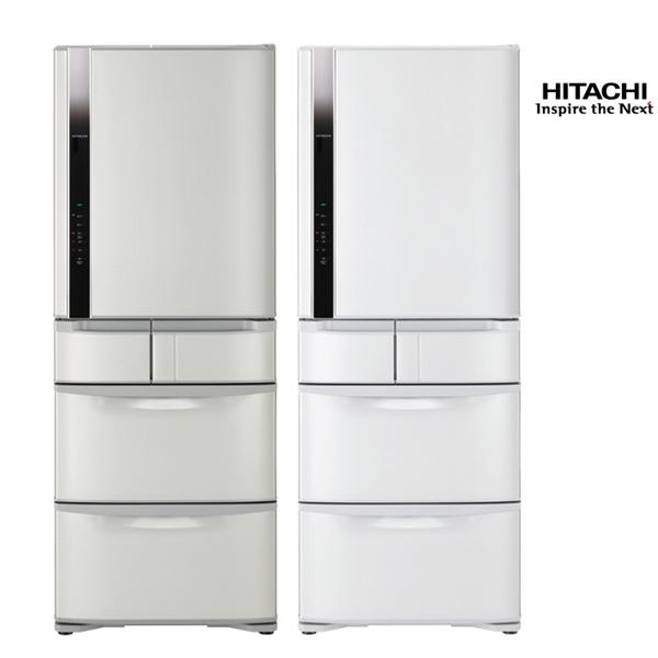 HITACHI日立477公升日本原裝一級變頻真空冷藏五門冰箱RS49FJ