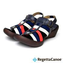 RegettaCanoe-女款-CJLW-5519優雅樂步休閒鞋- 海軍藍