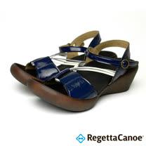 RegettaCanoe-女款-CJLW-5520優雅樂步休閒鞋-海軍藍