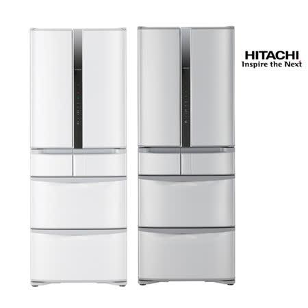 領券再折$2500★HITACHI日立475公升日本原裝智慧真空一級變頻六門冰箱RSF48FJ