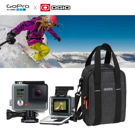【GoPro】HERO入門版+LCD + OGIO手提側肩包組