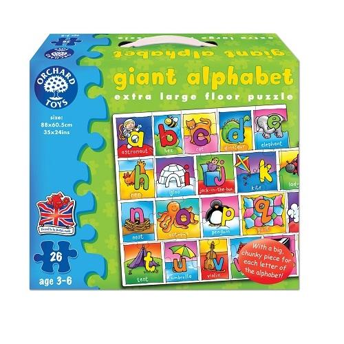 ~英國Orchard Toys~遊戲拼圖~字母拼拼看