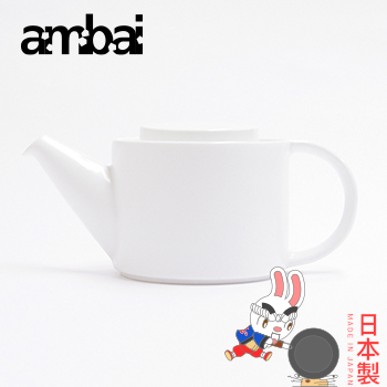 ambai 陶瓷花茶壼 500ml~小泉誠 製
