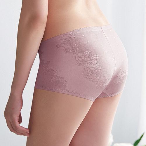 ~蕾黛絲~壓腹輕型修飾褲M~EL^(藕色^)