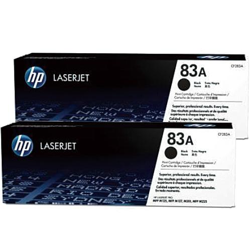【HP】CF283A/83A 原廠黑色碳粉匣 (雙入組)