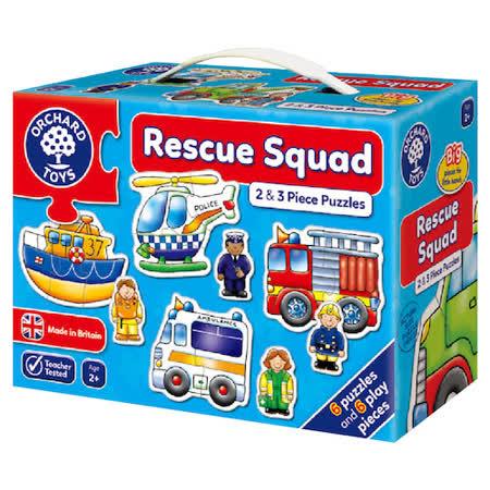 【英國Orchard Toys】遊戲拼圖-救援小英雄