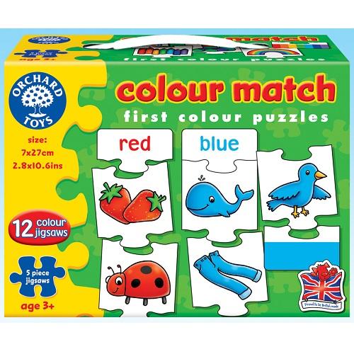 ~英國Orchard Toys~遊戲拼圖~拼色配對