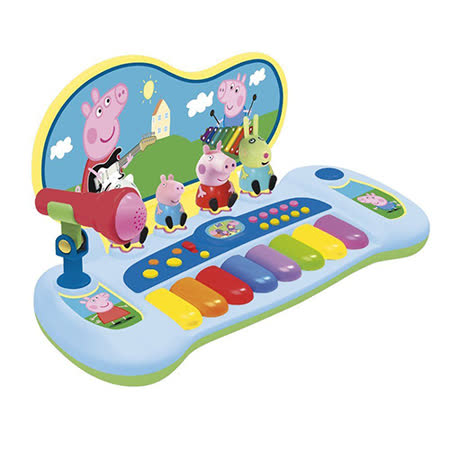 《Peppa Pig》粉紅豬小妹鋼琴麥克風