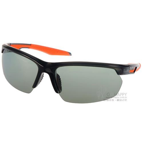 OUTDO太陽眼鏡  運動時尚型保舉 偏光變色款(透黑-橘) #TR386 P1X