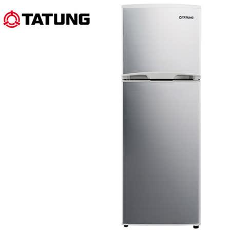 TATUNG大同 175L大同雙門冰箱TR-B175HT-S送安裝