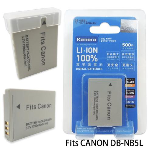 Kamera 通過BSMI認證 Canon NB-5L 高容量相機鋰電池