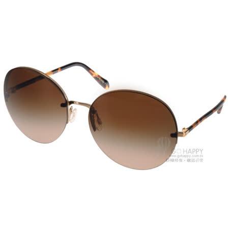 OLIVER PEOPLES太陽眼鏡  摩登歐美圓框款(金-琥珀) #JORIE 503513