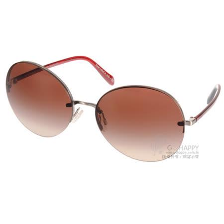 OLIVER PEOPLES太陽眼鏡  摩登歐美圓框款(銀-紅) #JORIE 506313