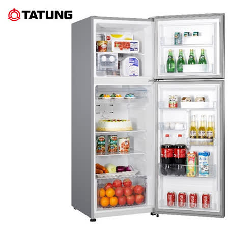 TATUNG大同 334L一級能效環保雙門冰箱TR-B334HT-S 送安裝