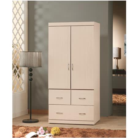優質白橡2.7*6尺衣櫥