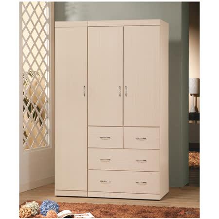 優質白橡4*7尺衣櫥