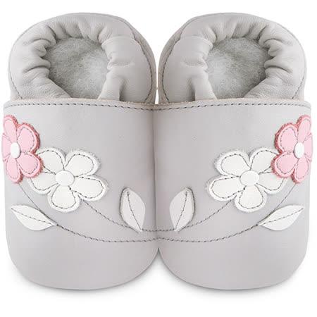 英國 shooshoos 安全無毒真皮手工鞋/學步鞋/嬰兒鞋_玫瑰花園_101034 (公司貨)