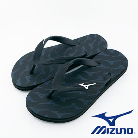 Mizuno 美津濃 FLIP FLOP 夾腳拖鞋 運動拖鞋  (黑) - K1GS168109