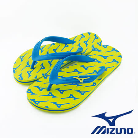 Mizuno 美津濃 FLIP FLOP 夾腳拖鞋 運動拖鞋  (綠) - K1GS168145