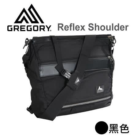 【美國Gregory】Reflex Shoulder日系休閒側背包-黑色