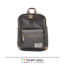 《Traveler Station》SPASSO 義大利Nume皮革帆布直式後背包(多色任選)