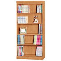 HAPPYHOME 尚麗赤楊木3尺開放書櫃UZ6-256-7