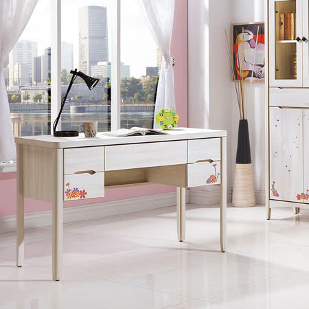 HAPPYHOME 瑪奇朶4尺書桌UZ6-257-1