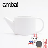 日本ambai 陶瓷花茶壼 500ml-小泉誠 日本製