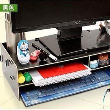 窩自在 電腦置物櫃3mm-黑色 3mm