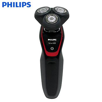 《PHILIPS飛利浦》三刀頭水洗式電鬍刀 S5130