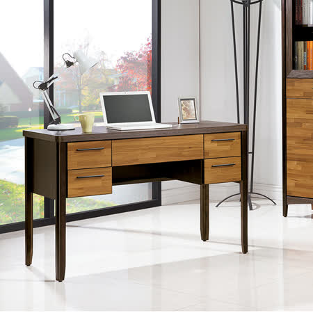 HAPPYHOME 振克雙色4尺書桌UZ6-257-6