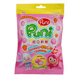 PUNIPUNI超Q草莓軟糖家庭號65g