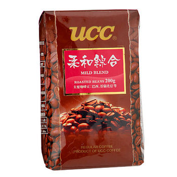 UCC柔和綜合咖啡豆200g