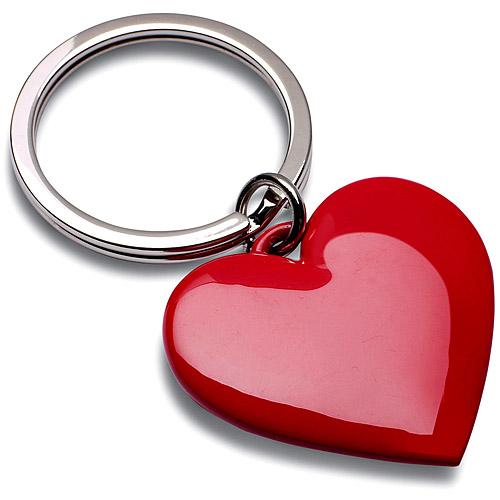 《REFLECTS》心心相映鑰匙圈(紅)