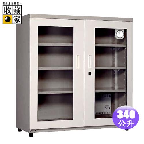 收藏家340L雙門式電子防潮箱(HLD-350H)
