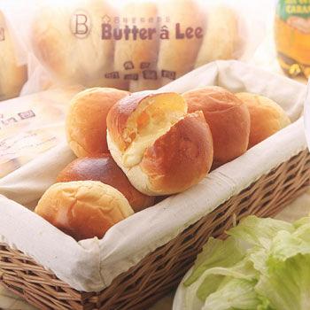巴特里爆漿奶油餐包+拉絲起司蒜味餐包(各3包/60入)