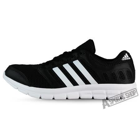ADIDAS (男) 愛迪達 BREEZE 101 2 M 休閒鞋 黑/白-AF5340